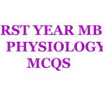 Physiology mcqs for first year mbbs