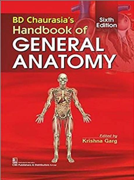 BD Chaurasia Handbook Of General Anatomy PDF 6th Edition ...