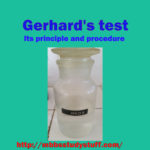 Gerhard's test for ketone bodies – Its principle and procedure