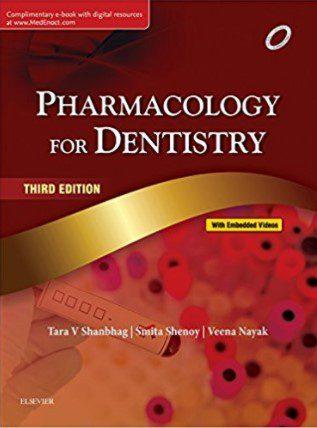 Pharmacology for Dentistry PDF