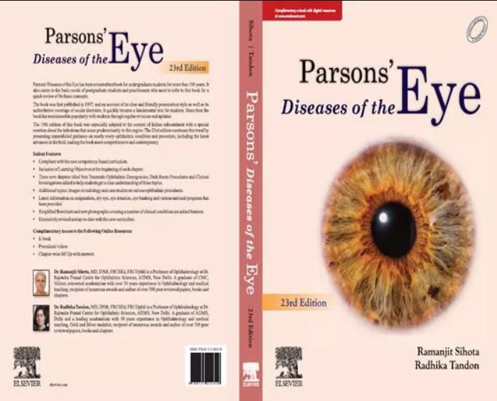 Download Parson's Diseases of the Eye Pdf Free 23rd Edition