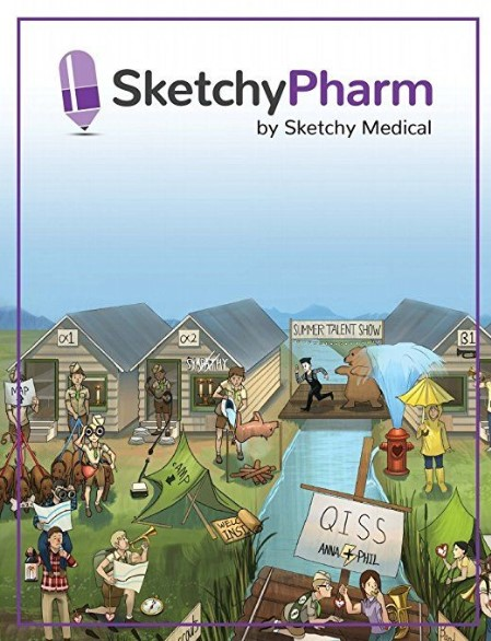 Sketchy Pharmacology Pdf 2018 with pictures Free Download