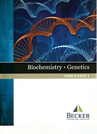 BECKER USMLE Step 1 Biochemistry Genetics PDF Free Download