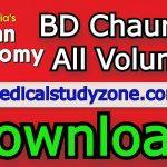 Download BD Chaurasia Human Anatomy PDF All Volumes Free 2021