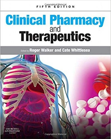 Walker Clinical Pharmacy and Therapeutics 5th Edition PDF Free Download