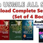 Crush USMLE Step 1, Step 2 & Step 3 PDF Download Free (Set of 4 Books)