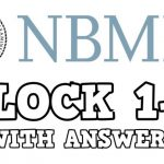 Download NBME 1 Block 1-4 (With Answers) PDF 2020 Free
