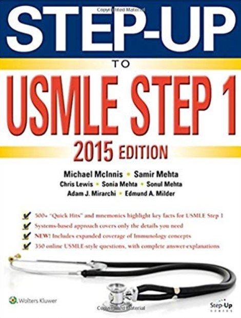 Download Step-Up to USMLE Step 1 2015 7th Edition PDF Free