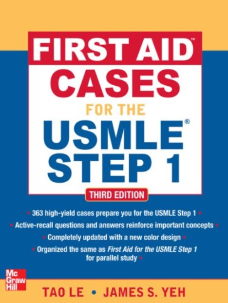 First Aid Cases for the USMLE Step 1 PDF 3rd Edition Free Download