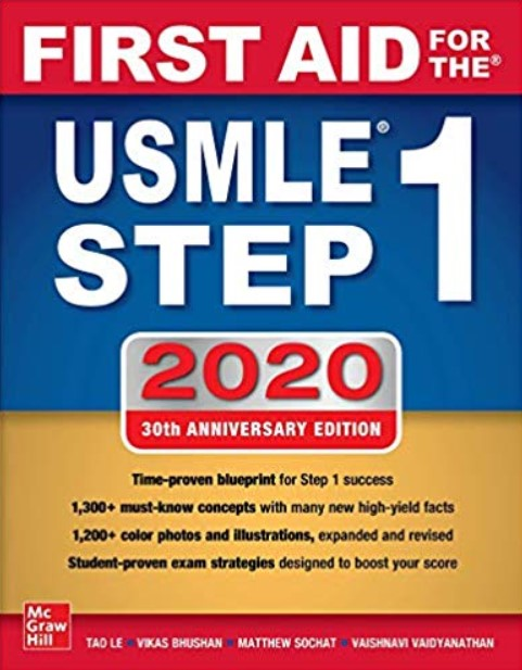 Download First Aid for the USMLE Step 1 2020 30th Edition PDF Free