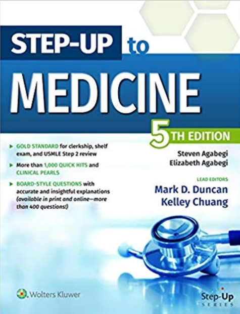 Step-Up to Medicine (Step-Up Series) 5th Edition PDF Free Download