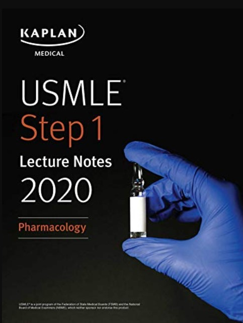 USMLE Step 1 Lecture Notes 2020: Pharmacology PDF Free Download