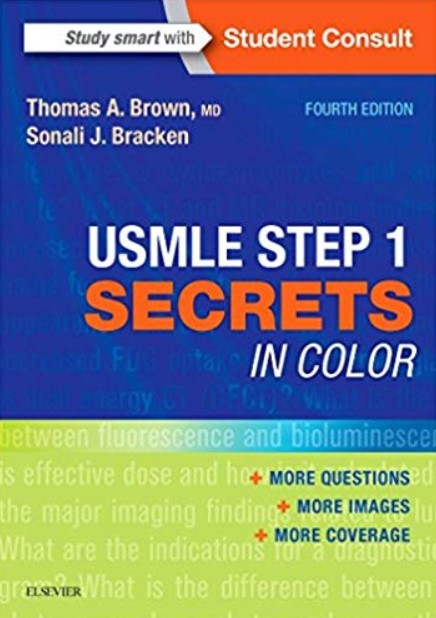 USMLE Step 1 Secrets in Color 4th Edition PDF Free Download