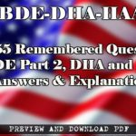 Download 1055 Remembered Questions for NBDE Part 2, DHA and HAAD Exams