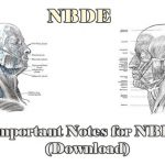 Download Important Notes for NBDE 2020