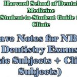 Must have Notes for NBDE and Dentistry Exams 2020