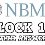 Download NBME 2 Block 1-4 (With Answers) PDF 2020 Free