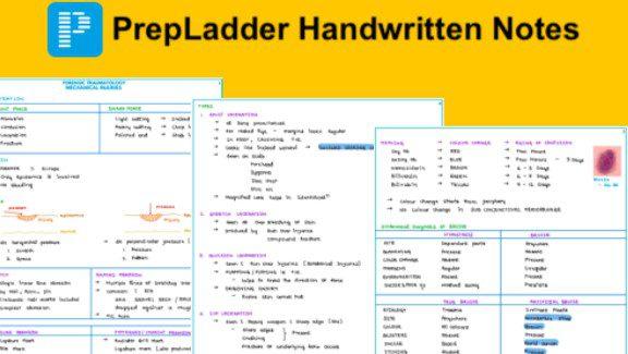 Download Prepladder Handwritten Notes 2020 PDF FREE