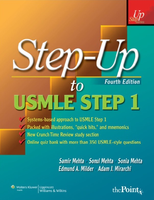 Download Step-Up to USMLE Step 1: A High-Yield, Systems-Based Review for the USMLE Step 1 4TH Edition PDF Free