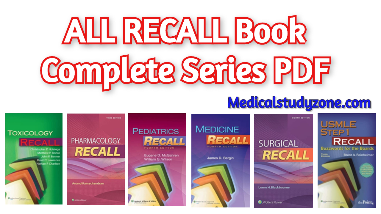 ALL RECALL Book Complete Series PDF 2020 Free Download ...