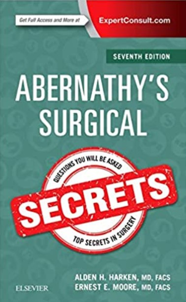 Abernathy's Surgical Secrets 7th Edition PDF Free Download