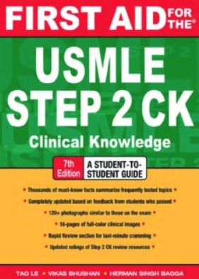 First Aid for the USMLE Step 2 CK 7th Edition PDF Free Download