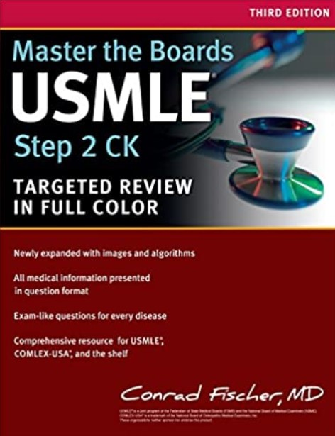 Master the Boards USMLE Step 2 CK Targeted Review in Full Color PDF Free Download