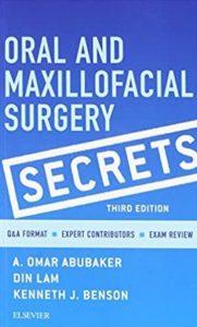 Oral and Maxillofacial Surgery Secrets 3rd Edition PDF Free Download