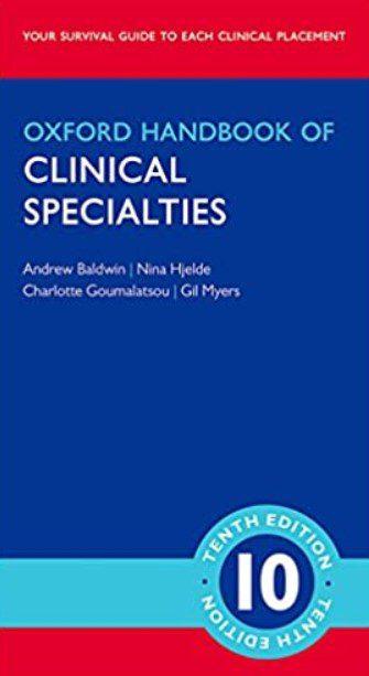 oxford handbook of clinical dentistry pdf تحميل