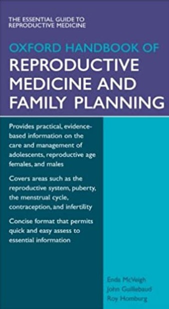 Oxford Handbook of Reproductive Medicine & Family Planning PDF Free Download