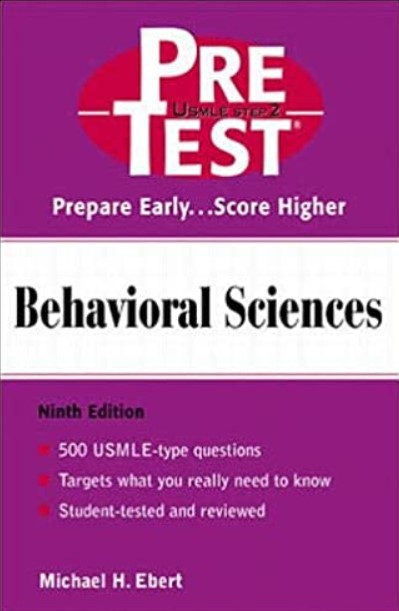 Behavioral Sciences: PreTest Self-Assessment and Review 9th Edition PDF Free Download