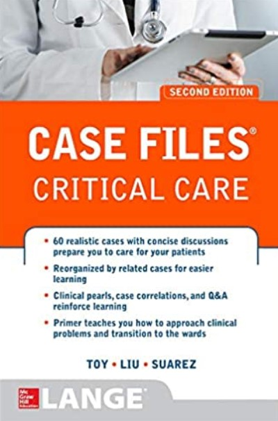 Case Files Critical Care 2nd Edition PDF Free Download