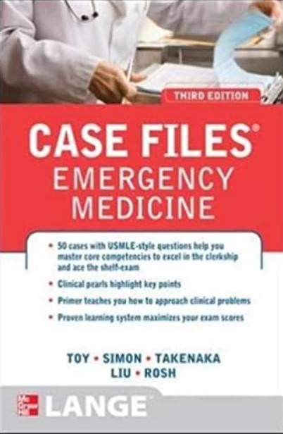 Case Files Emergency Medicine 3rd Edition PDF Free Download