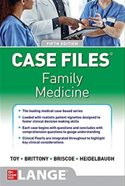 Case Files Family Medicine 5th Edition PDF Free Download