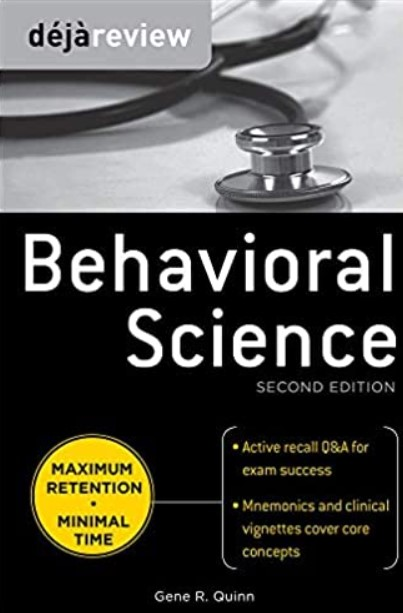 Deja Review Behavioral Science 2nd Edition PDF Free Download