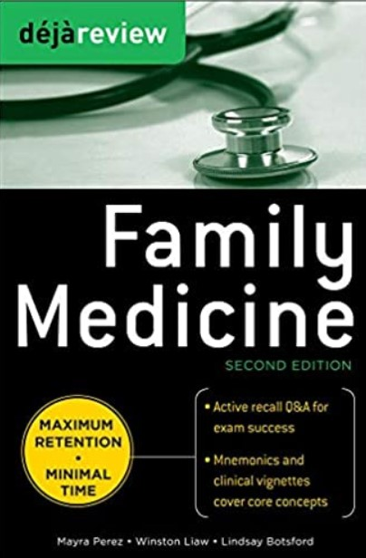 Deja Review Family Medicine 2nd Edition PDF Free Download