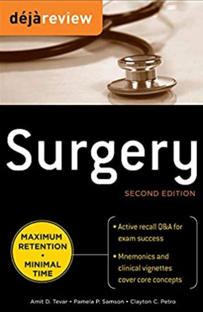 Deja Review Surgery 2nd Edition PDF Free Download