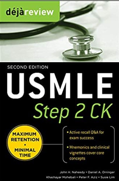 Deja Review USMLE Step 2 CK 2nd Edition PDF Free Download