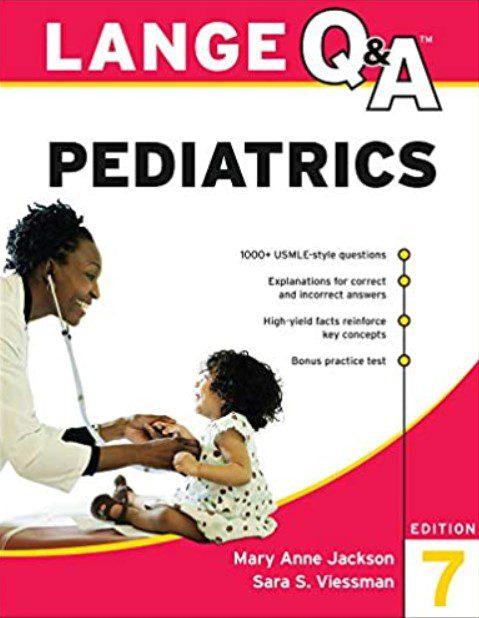 LANGE Q&A Pediatrics 7th Edition PDF Free Download
