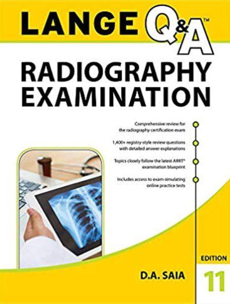 LANGE Q&A Radiography Examination 11th Edition PDF Free Download