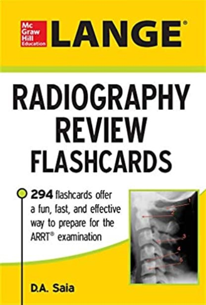 LANGE Radiography Review Flashcards PDF Free Download