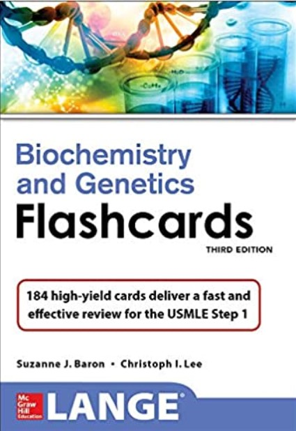 Lange Biochemistry and Genetics Flashhcards 3rd Edition PDF Free Download