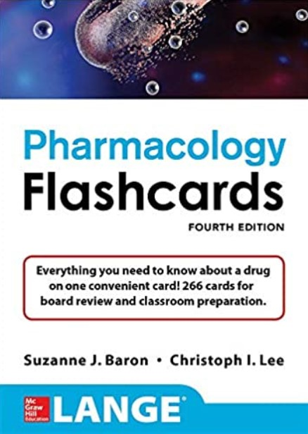 Lange Pharmacology Flashcards 4th Edition PDF Free Download