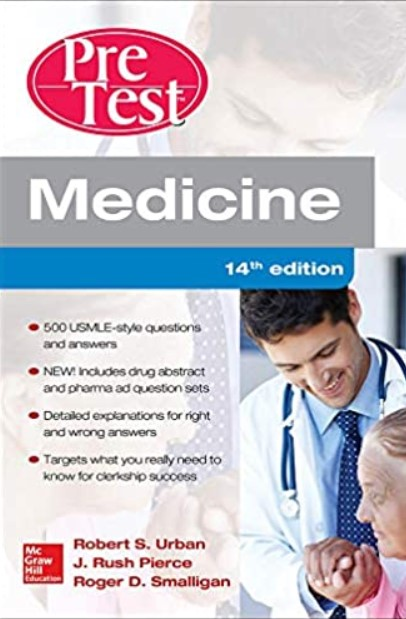Medicine PreTest Self-Assessment and Review 14th Edition PDF Free Download