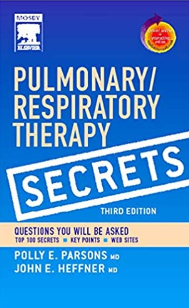 Pulmonary/Respiratory Therapy Secrets 3rd Edition PDF Free Download