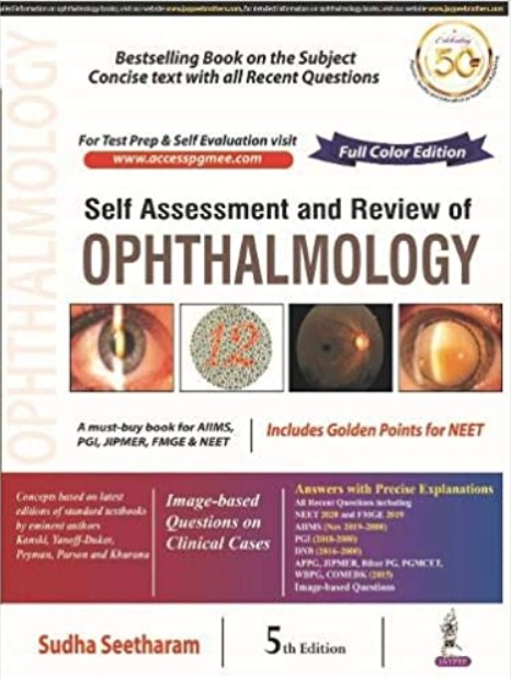 Self Assessment & Review Of Ophthalmology 5th Edition PDF Free Download