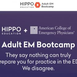Hippo : Adult EM Bootcamp & The Practice of Emergency Medicine 2020 Free Download