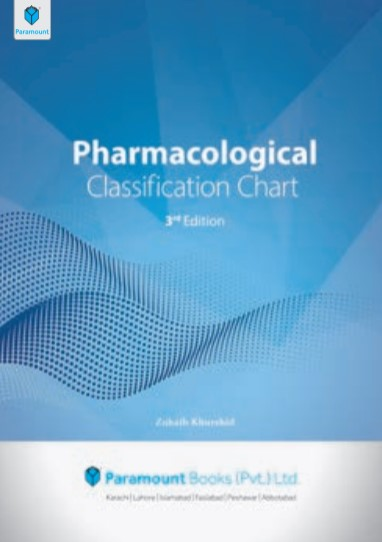 Pharmacological Classification Chart 3rd Edition By Zohaib Khurshid PDF Free Download