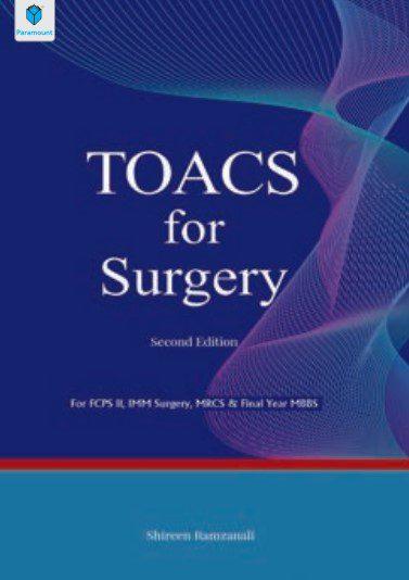 TOACS for Surgery 2nd Edition By Shireen Ramzanali PDF Free Download