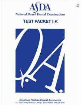 ASDA NBDE Part 1 Packet-Papers 2021 PDF Free Download